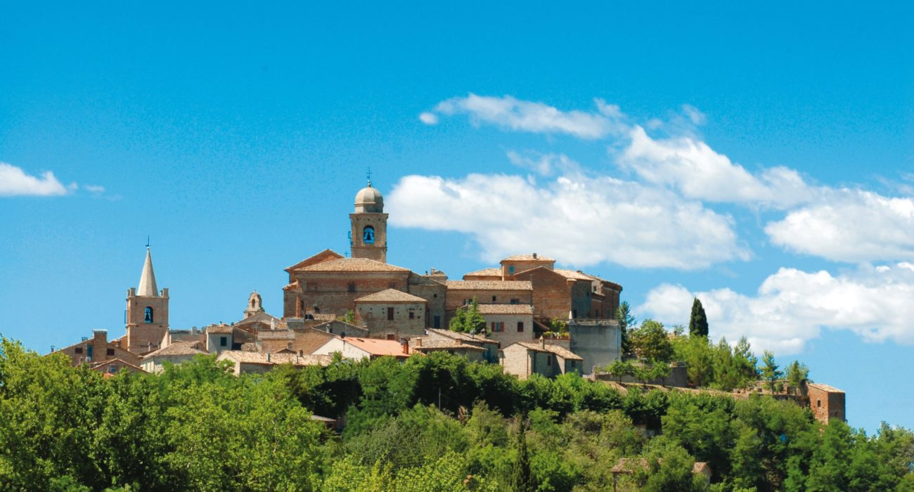 10 Paesaggio di Montedinove da san francesco